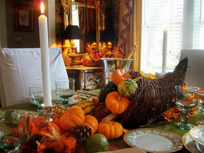 Thanksgiving Decoration Pictures