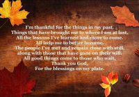 Thanksgiving Poemsa